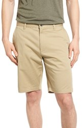 Rvca Men's The Week End Twill Chino Shorts Khaki