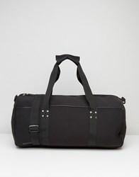 Systvm Barrell Bag In Black Black