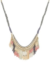 Evenandodd Necklace Grey Nude