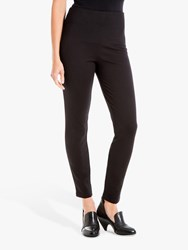 Max Studio High Waisted Ponte Trousers Black
