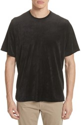 Ovadia And Sons 'S Velour T Shirt Black