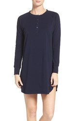 Naked Women's Sleepshirt Peacoat Blue