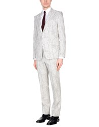 Versace Collection Suits Light Grey