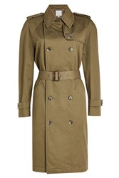 Anine Bing Military Trench Green