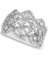 Effy Diamond Crown Ring 7 8 Ct. T.W. In 14K White Gold