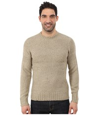Royal Robbins Scotia Ribbed Crew Khaki Men's Sweater