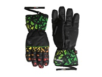 Celtek Ace Gloves Rasta Graffiti Snowboard Gloves Multi