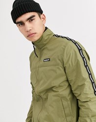 Timberland Funnel Neck Track Jacket Green
