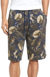 Vince Men's Foliage Print Sweat Shorts