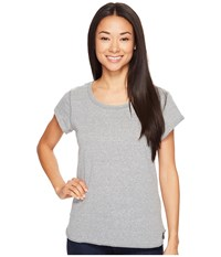 Columbia Trail Shaker Short Sleeve Shirt Sedona Sage Heather Women's Short Sleeve Pullover Gray
