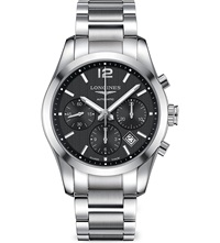 Longines L27864566 Conquest Watch Steel