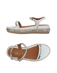 Fiorina Sandals White
