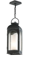 Troy Lighting Derby Outdoor Pendant Gray