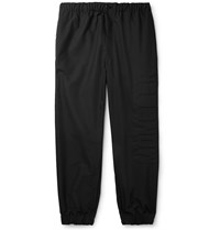 Moncler Tapered Shell Trousers Black