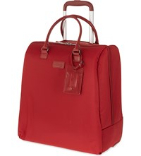 Lipault Lady Plume Rolling Tote Ruby