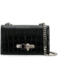 Alexander Mcqueen Knuckle Shoulder Bag Black