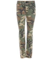 Rag And Bone Camouflage Printed Jeans Multicoloured