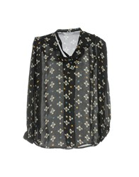 Axara Paris Blouses Black