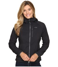 Outdoor Research Uberlayer Hooded Jacket Black Women's Coat