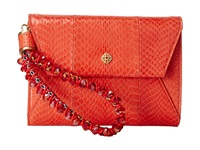 Rafe New York Daisy Wristlet Sea Coral Wristlet Handbags Orange