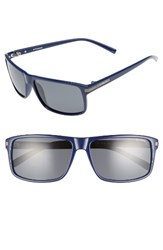 Polaroid Men's Eyewear 59Mm Polarized Sunglasses Blue