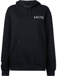 Premier Amour Muse Hoodie Women Cotton Polyester L Black