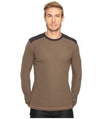 Ecoths Aaron Long Sleeve Pullover Tarmac Men's Long Sleeve Pullover Olive