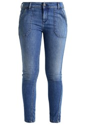 Teddy Smith Work Slim Fit Jeans Blue Denim