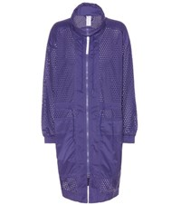 Adidas By Stella Mccartney Train Parka Jacket Purple