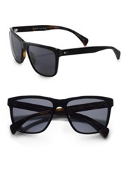 Paul Smith Kingsmill Oversized Sunglasses Black Tortoise