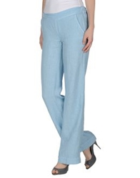 Manila Grace Casual Pants Sky Blue