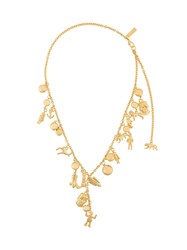 Marni Necklace With Metallic Charms