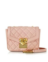 Love Moschino Small Quilted Shoulder Bag Pink