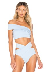 Kopper And Zink Zahara Top Baby Blue