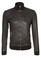 Revolution Ohio Leather Jacket Black