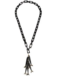 Maiyet 'Multi Baby Fish' Long Necklace Black