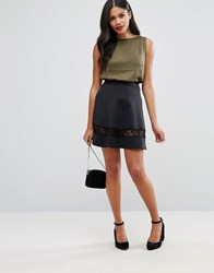 Girls On Film Prom Skirt Black