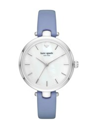 Kate Spade Blue And Stainless Holland Watch Blue Stainless Steel