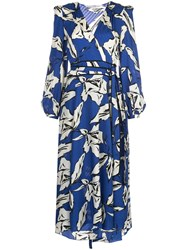 Veronica Beard Floral Print Midi Dress 60