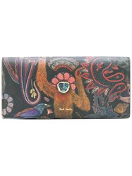 Paul Smith Printed Wallet Women Calf Leather One Size