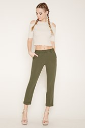 Forever 21 Tapered Cuffed Trousers