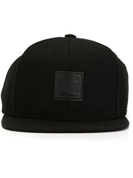 Carhartt Logo Patch Cap Black