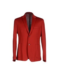 Brian Dales Suits And Jackets Blazers Men Brick Red