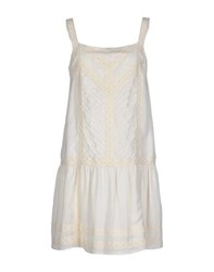 Atelier Fixdesign Dresses Short Dresses Women Ivory