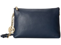 Michael Michael Kors Jet Set Chain Item Top Zip Messenger Navy Messenger Bags