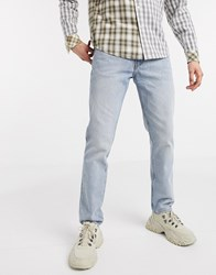Weekday Friday Spring Blue Iconic Fit Jeans