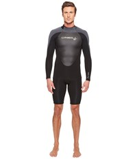 O'neill Epic 2Mm Long Sleeve Spring Black Black Graphite Men's Wetsuits One Piece