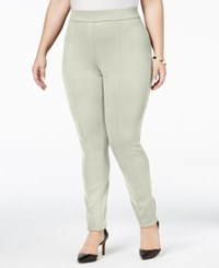 Styleandco. Style Co. Plus Size Seamed Leggings Only At Macy's Warm Ivory