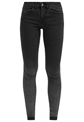 Vila Vicrush Slim Fit Jeans Black