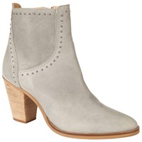 Collection Weekend By John Lewis Obenheim Block Heeled Ankle Boots Grey Leather